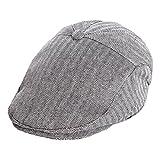 ACVIP Bébé Enfant Unisexe Casquette Plate Béret Cap Hat Voyage (Tour de tête:45-48cm, Style 2)