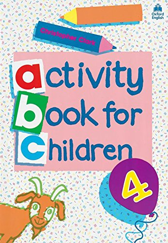 Oxford Activity Books for Children: Book 4: Bk. 4-9780194218337