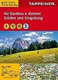 KOKA118 Kombinierte Wanderkarte Gröden und Umgebung - GPS kompatibel - Maßstab 1:25.000...