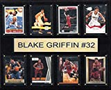 C & I Collectables NBA Los Angeles Clippers Blake Griffin Gefaltet Plaque, 12x 15Zoll, Braun