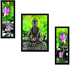 Paf Modern Art Paintings,Frame Size(Wood, 35 Cm X 2 Cm X 50Cm, Special Effect Textured)