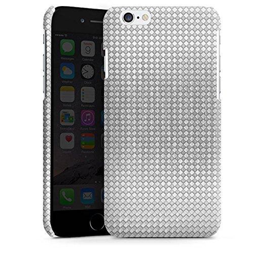 Apple iPhone 5s Housse Étui Protection Coque Argent Motif Motif Cas Premium brillant