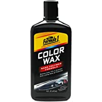Formula 1 Color Wax for Cars (473 ml, Black)