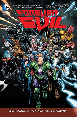 The Justice League is dead! And the villains shall inherit the Earth! In this new hardcover collecting the seven-issue miniseries, the Crime Syndicate takes over the DC Universe, and no one can stand in the way of them and complete domination - no on...