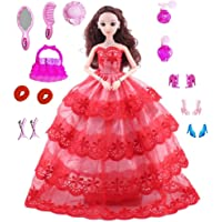 Gift Paradize Pretend Play Cosmetic and Makeup Toy Beauty Kit with Doll for Girls & Kids, Cute Dolls Set for Girls…