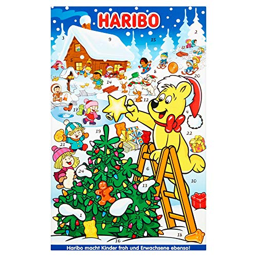 Haribo Advent Calendar, Christmas 2018 sweets, 300g