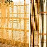 Schilfrohrmatte als Sichtschutz 180 cm hoch x 600 cm breit für Garten Balkon Terrasse