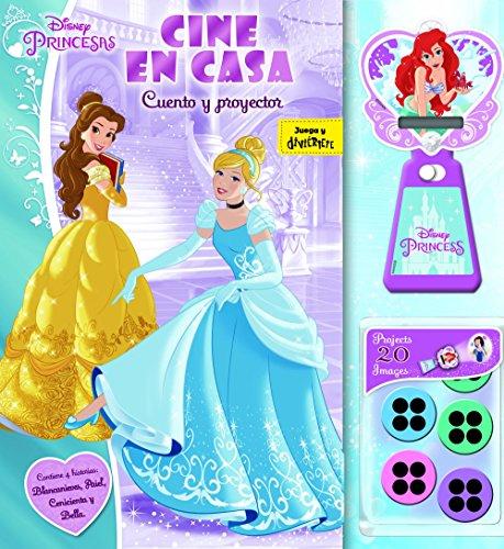 Princesas. Cine en casa: Cuento y proyector (Disney. Princesas)