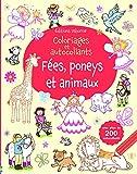 Image de Fées, poneys et animaux - Coloriages et autocollants