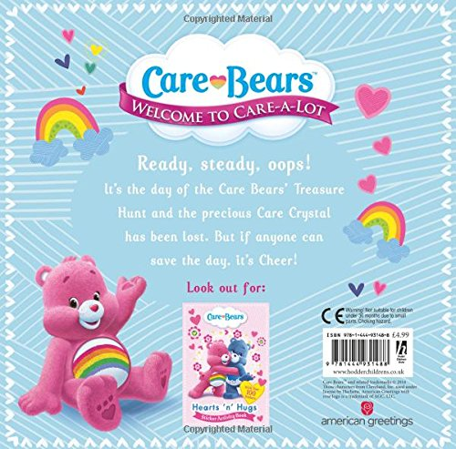Image of Cheer Bear and the Treasure Hunt Storybook (Care Bears)
