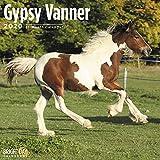 Bright Day 2020-Wandkalender'Gypsy Vanner', 16 Monate, 30,5 x 30,5 cm, Bauernhoftiere, Haustier Irischer Cop Tinker
