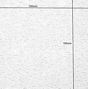 Armstrong Tatra Board per soffitto piatto 600 x 600 mm Square Edge 24 mm Grid UK