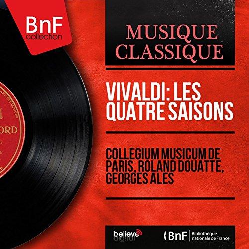 """Les quatre saisons, Concerto pour violon No. 1 in E Major, RV 269 """"Le printemps"""": II. Largo"""