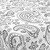 Colcha Cubrecama de Tejido Jaquard Modelo Kazan, Color Gris para Cama de 135 - 235x270cm