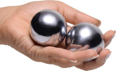 Master Series Grey Titanica Extreme Steel Orgasm Balls