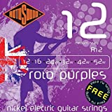 Rotosound Nickel Medium/Heavy Gauge Electric Guitar Strings (12 16 24 32 42 52)