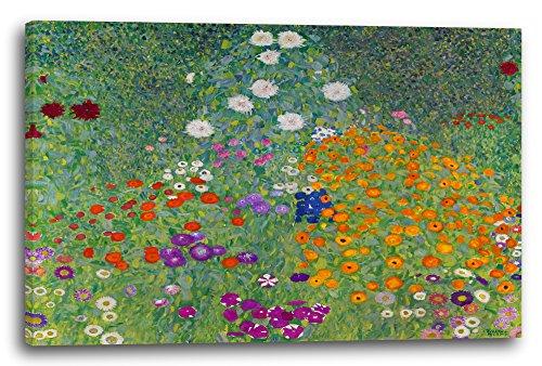 Gustav Klimt - Bauerngarten (1907), 120 x 80 cm (weitere Größen verfügbar), Leinwand auf...