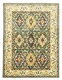 Nain Trading Ziegler Arijana 223x168 Orientteppich Teppich Dunkelgrau/Dunkelbraun Handgeknüpft Pakistan