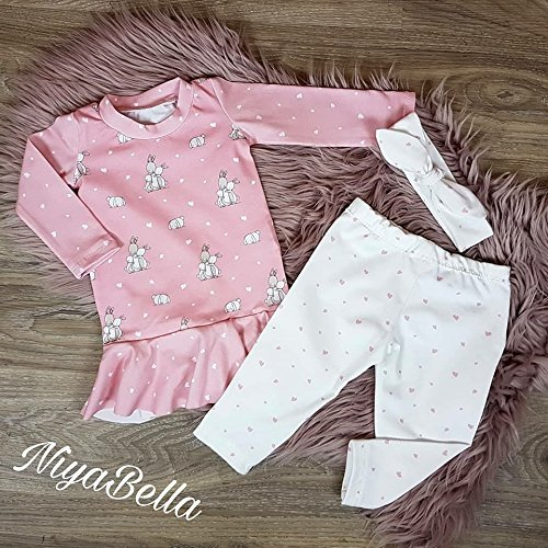 Set Shirt Leggings & Haarband Größe ()