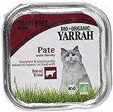 Yarrah Bio Katzennassfutter Rind mit Zichorie, 100 g