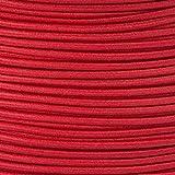 5m Gummikordel - Hutgummi - Rundgummi, hochwertig, extra-stark in 2mm, rot