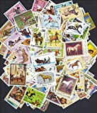 IHC Rare Collection of World Stamps of 50 Different Countries (50 Pieces)