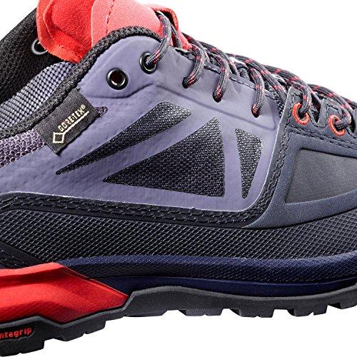 X Alp Spry GTX® W–Scarpe Trekking Donna Graphite / Crown Blue / Poppy Red