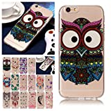 V-Ted Coque Apple iPhone 7 8 Hibou Silicone Ultra Fine Mince Bumper Housse Etui Cover...