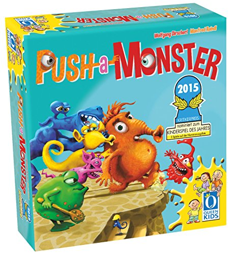 "Queen Games 30022 - ""Push-a-Monster"""