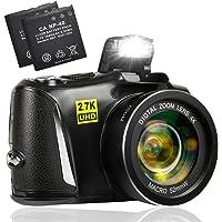 Appareil Photo numérique 2.7K Ultra HD Appareil Photo numerique de 48 mégapixels Appareil Photo Compact avec écran de 3…