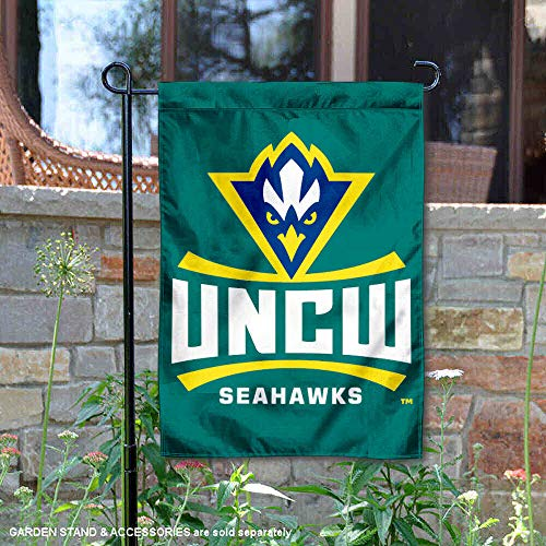 College Flags and Banners Co. North Carolina at Wilmington Seahawks Garten Flagge