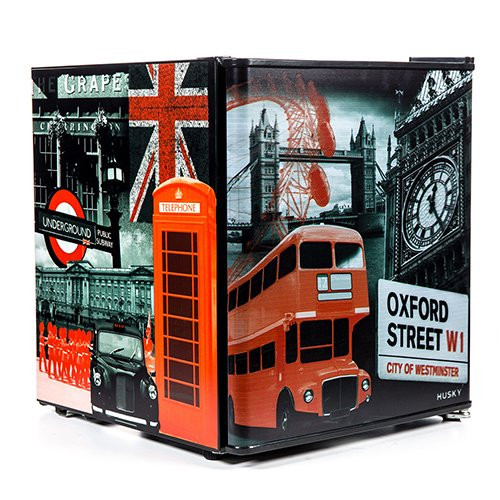 61%2BxRdUW3bL. SS500  - Husky HUS-EL195-HU London Mini Fridge