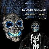 SOUTHSKY nouvelle mode crâne masque la lumière bleue de shining, froid,conduit lumière masque