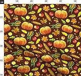 September 2016 Herbsternte, Thanksgiving, Kürbis, Mais,