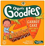Organix Goodies Organic Carrot Cake Cereal Bar, 12+ Months, 6 x 30g