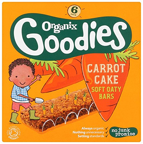 organix-goodies-from-12-months-organic-carrot-cake-soft-oaty-bars-6-x-30-g-pack-of-6-total-36-bars