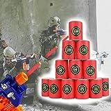 Queta Bullet Dartpfeile Zielscheibe, Eva, weich, für Nerf N-Strike Elite Series Blaster, Zielschießen