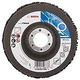 Bosch 2608607633 Non-tissé de nettoyage 125 mm, 22,23 mm, SiC, 7 650 tr/min Vitesse optimale 5 000 tr/min, 1 pièce