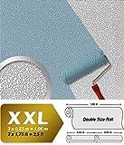 Vliestapete zum Überstreichen EDEM 304-60 XXL Dekor Tapete streichbar rauhfaser maler weiß putz-optik