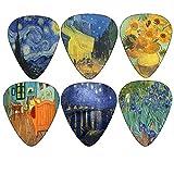 Vincent Van Gogh Guitar Picks - Celluloi...