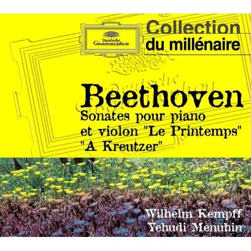 Beethoven-Sonates pour piano et violon n5 et 9