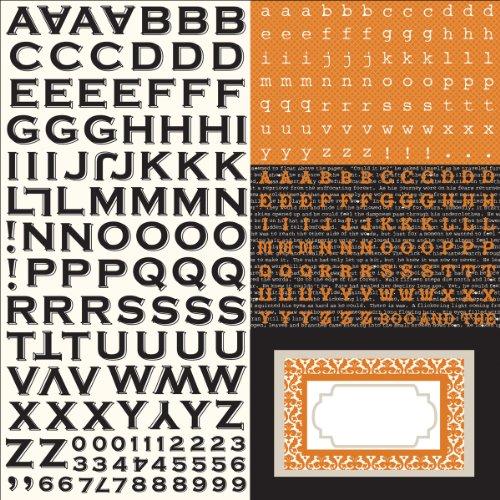 Echo Park 30.48 cm x 30.48 cm Halloween-Aufkleber, Motiv Apothekerschrank Emporium AE18015
