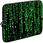 Sidorenko Laptop Tasche für 14 - 14,2 Zoll   Universal Notebooktasche Schutzhülle   Laptoptasche aus Neopren, PC Computer Hülle Sleeve Case Etui, Grün