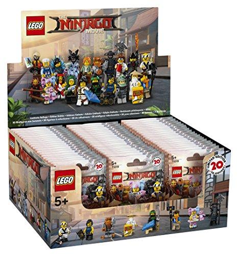 LEGO 6175016 Minifiguras - Juego de construcción - Minifiguras Ninjago ®: la película™ en colores aleatorios - Lote de 60 unidades