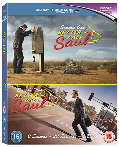 Better Call Saul - Series 1+2 [Blu-ray]