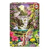Educa - 15515 - Puzzle - La Cascade des Fées - 500 Pièces
