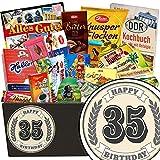 35. Geburtstagsgeschenk | Schoko Box Geschenkideen | Geschenke zum 35 Geburtstag Mann