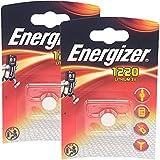 2 x Energizer CR1220 3V Lithium Batteries