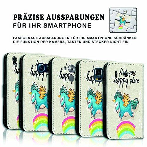 Wallet Book Style Flip Handy Tasche Case Schutz Hülle Schale Motiv Etui für Apple iPhone 6 Plus / 6S Plus - Variante UMV4 Design11 Design 6