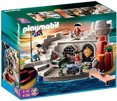 Playmobil 5139 - Piratas: fortaleza con calabozo por Playmobil